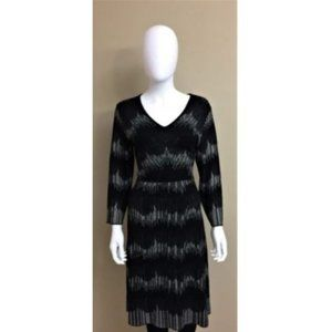 Anne Klein Dress Sweater Black Knit Large NWOT